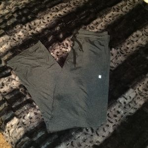 Kyodan Charcoal Gray Athletic Pants Athleisure Sm